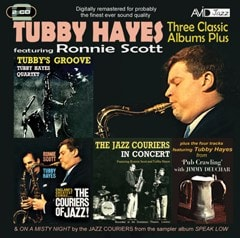 Three Classic Albums Plus: Tubby's Groove/The Couriers of Jazz!/Jazz Couriers in Concert/... - 1