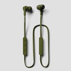 Jays T-Four Moss/Green Bluetooth Earphones - 1