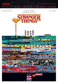 Stranger Things A3 Deluxe 2022 Calendar - 2