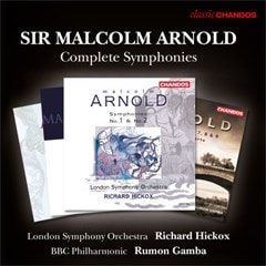 Sir Malcolm Arnold: Complete Symphonies - 1