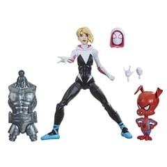 Gwen Stacy: Spider-Man: Into The Spider-Verse Marvel Legends Action Figure With Spider-Ham - 2