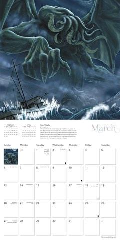 Cthulhu Square 2022 Calendar - 2