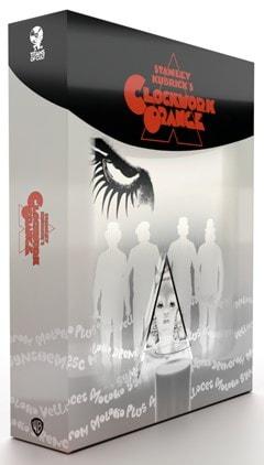 A Clockwork Orange Titans of Cult Limited Edition 4K Ultra HD Blu-ray Steelbook - 2