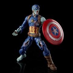 Zombie Captain America: Hasbro Marvel Legends Series Action Figure - 3