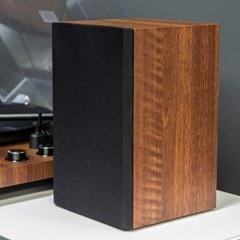 Crosley C62 Walnut Turntable & Speakers - 13
