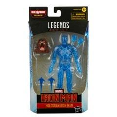 Hasbro Marvel Legends Series Hologram Iron Man Action Figure - 8