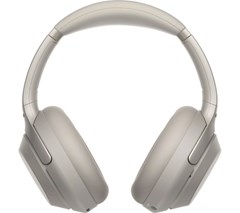 Sony WH-1000XM3 Silver Active Noise Cancelling Bluetooth Headphones - 2