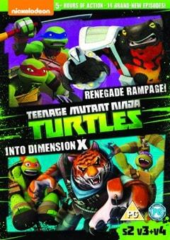 Teenage Mutant Ninja Turtles: Renegage Rampage!/Into Dimension... - 1