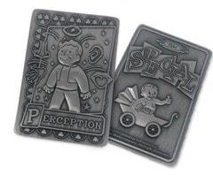 Fallout: Perception Metal Perk Card - 3