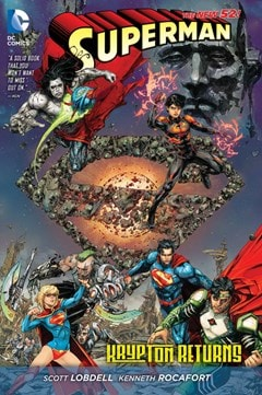 Superman: Return To Krypton (The New 52) - 1