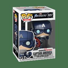 Captain America (627) Avengers Gamerverse Marvel Pop Vinyl - 2