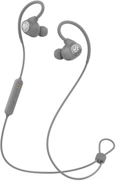 J-Lab Epic Sport Grey Bluetooth Earphones - 1