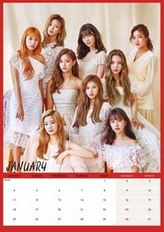 Twice: Unofficial A3 2021 Calendar - 2