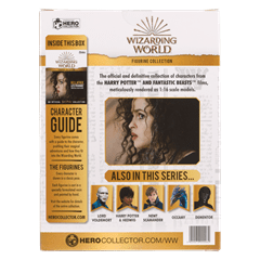 Bellatrix Lestrange: Harry Potter 1:16 Figurine With Magazine: Hero Collector - 2