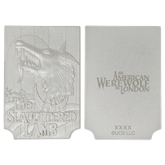American Werewolf In London: Pub Sign Limited Edition Silver Plated Replica Collectible - 4