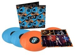 Steel Wheels Live - Atlantic City, New Jersey - Limited Edition Blue & Orange Vinyl - 1