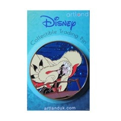Cruella: 101 Dalmatians: Disney Limited Edition Artland Pin - 1