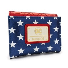 Loungefly X DC Comics Wonder Woman Red White And Blue Flap Wallet - 2