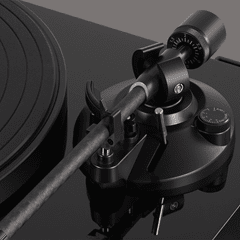 Audio Technica AT-LPW50 Wood Base Piano Black Turntable - 6