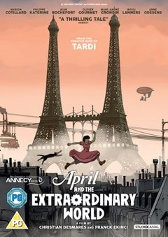 April and the Extraordinary World - 1