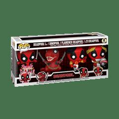 Deadpool 30th: Deadpool Marvel 4 Pack (hmv Exclusive) Pop Vinyl - 2
