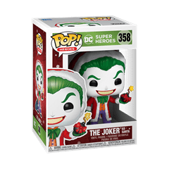 The Joker as Santa (358) DC Holiday Pop Vinyl - 2