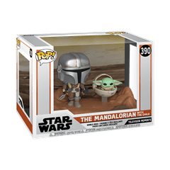 The Mandalorian with The Child (390) Star Wars Pop Vinyl Moments - 2