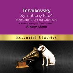 Tchaikovsky: Symphony No. 4/Serenade for String Orchestra - 1
