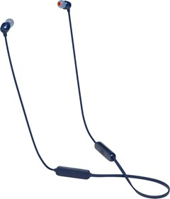 JBL Tune 115BT Blue Bluetooth Earphones - 1
