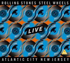 Steel Wheels Live - Atlantic City, New Jersey - 2CD + Blu-ray - 2