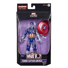 Zombie Captain America: Hasbro Marvel Legends Series Action Figure - 6