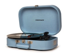 Crosley Discovery Glacier Blue Turntable - 2