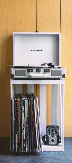Crosley Cruiser Deluxe White Sand Turntable - 7