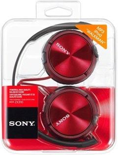 Sony MDRZX310 Red Headphones - 3