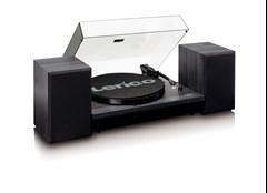 Lenco LS-300 Black Turntable and Speakers - 3