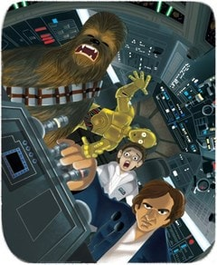 Star Wars: Never Tell Me The Odds James Silvani Limited Edition Giclee Print - 1