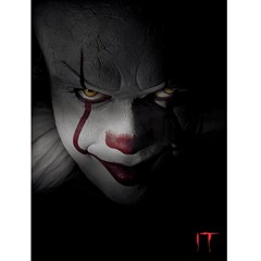 IT: Pennywise Close-up Canvas Print - 1