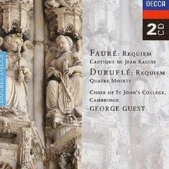 Faure: Requiem / Durufle: Requiem, Etc. (Choir of St John's Colle - 1