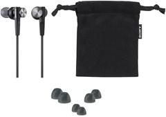 Sony XB50AP Black Extra Bass Earphones - 2