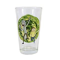 Rick & Morty Portal Large Glass - 1
