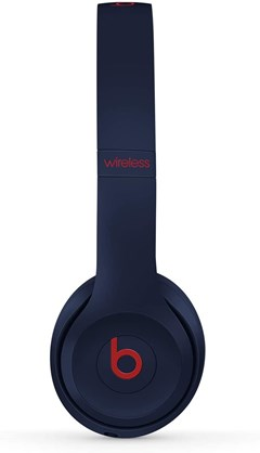 Beats By Dr Dre Solo 3 Wireless Club Navy Headphones - 3