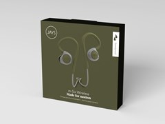 Jays M-Six Moss/Green Sports Bluetooth Earphones - 1