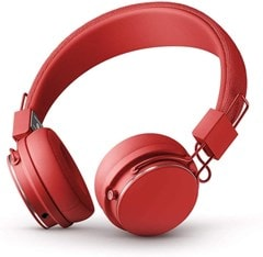 Urbanears Plattan II Tomato Red Bluetooth Headphones - 1