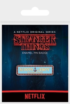 Stranger Things: Scoops Ahoy Enamel Pin - 1