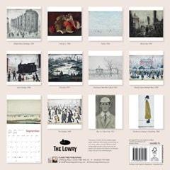L.S. Lowry Square 2022 Calendar - 3