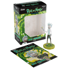 Rick: Rick and Morty Figurine: Hero Collector - 2