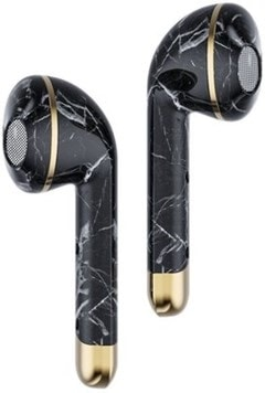 Happy Plugs Air1 Black Marble True Wireless Bluetooth Headset - 2