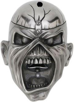 Iron Maiden: Eddie Trooper Wall Mounted Bottle Opener in Gun Metal - 1