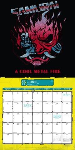 Cyberpunk: Square 2021 Calendar - 2