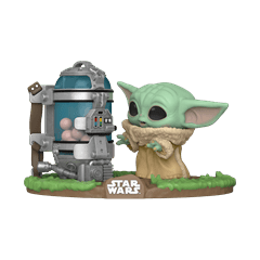 The Child With Egg Canister (407) The Mandalorian: Star Wars Pop Vinyl - 1
